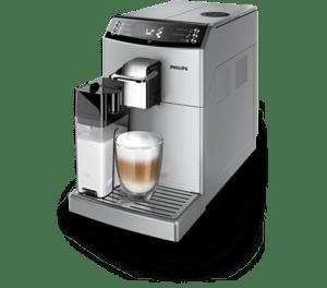 Кафеавтомат Philips EP 4050/10, С кана за мляко, Сребрист
